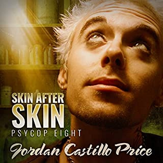 Skin After Skin     PsyCop, Book 8              By:                                                                                                                                 Jordan Castillo Price                               Narrated by:                                                                                                                                 Gomez Pugh                      Length: 15 hrs and 21 mins     173 ratings     Overall 4.7