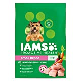 Iams Dry Dog Food Chicken Proactive Health Food for Dogs, Small & Toy Breed, 15.0 lb.