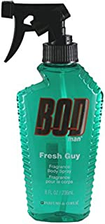 PARFUMS DE COEUR Bod Man Fresh Guy For Men Fragrance Body Spray, 8 oz