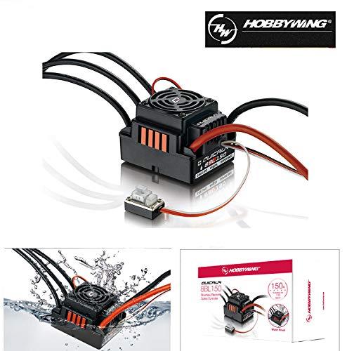 XTD Hobbywing QUICRUN WP 8BL150 Brushless Motor 150A ESC Speed Controller for 1/8 RC Car/Trucks/Monster