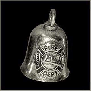 Tuning_Store Pewter Motorcycle Gremlin Bell Fire Dept. Fireman Department Made in The USA Cool Tuning