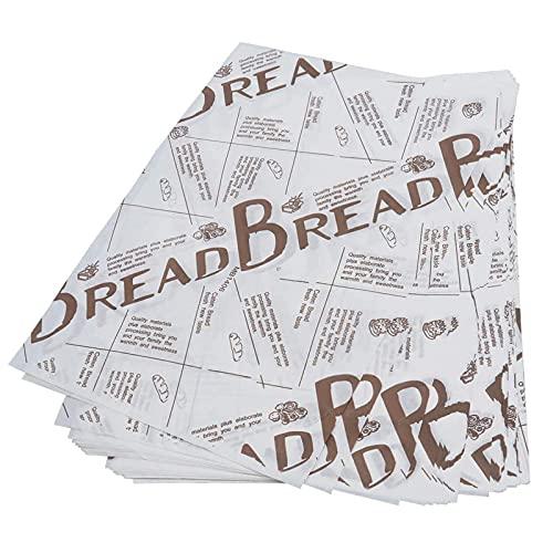 100 hojas de papel de regalo para hornear alimentos, papel antiadherente para hornear galletas, alimentos, regalos, alimentos, papel de embalaje para cumpleaños, fiestas, bodas, decoración de mesa