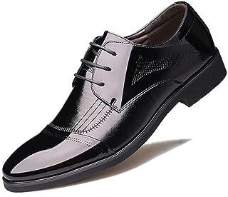 Dingziyue Business Scarpe Moda Uomo Casual Scarpe Bassa Top Scarpe Scarpe Uomo (Colore: Nero, Taglia : 42)