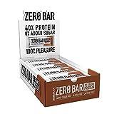BioTechUSA Zero Bar Barrita de proteínas con alto contenido proteico, sin azúcar añadid...
