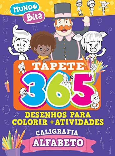 Tapete 365 Desenhos para Colorir + Atividades Mundo Bita