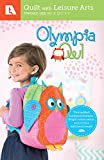 Olympia Owl - Children's Quilted Backpack Pattern Pack-This Quilted Backpack Features Bright Colors and is sure to be a Kids Best Friend!