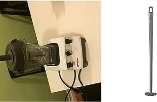 Vitamix 7500 Blender, Professional-Grade, 64 oz. Low-Profile Container, White & Blade Scraper Accessory, Grey