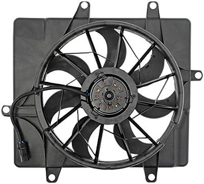 Dorman 620-022 Engine Cooling Fan Assembly for Select Chrysler Models