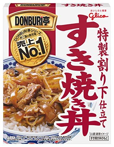 江崎グリコ グリコ DONBURI亭すき焼き丼 170g