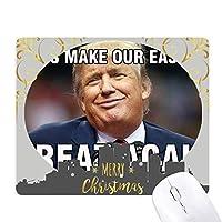 アメリカの大統領は、トランプのパロディーの画像 クリスマスイブのゴムマウスパッド
