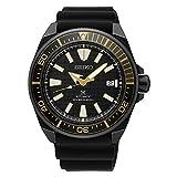 Seiko Prospex automática de iones de Samurai Negro buceo reloj con negro correa de...