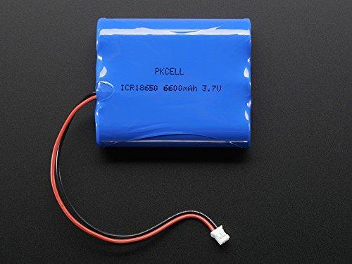 Adafruit Lithium Ion Battery Pack - 3.7V 6600mAh