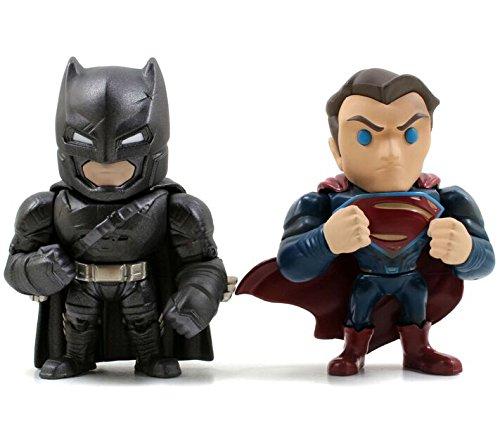 Batman 599386031 - Pack v Superman con Armadura y Superman
