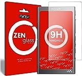 nandu I ZenGlass Protector de Vidrio Flexible Compatible con Sony Walkman NW-A35 I Protector de Pantalla 9H