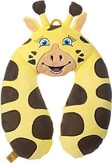 Go-Travel Kids Giraffe Neck Travel Pillow, Yellow, 2700