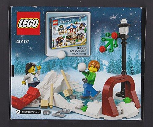 Lego Creator Holiday Winter Skating Scene [40107 - 129 PCS]