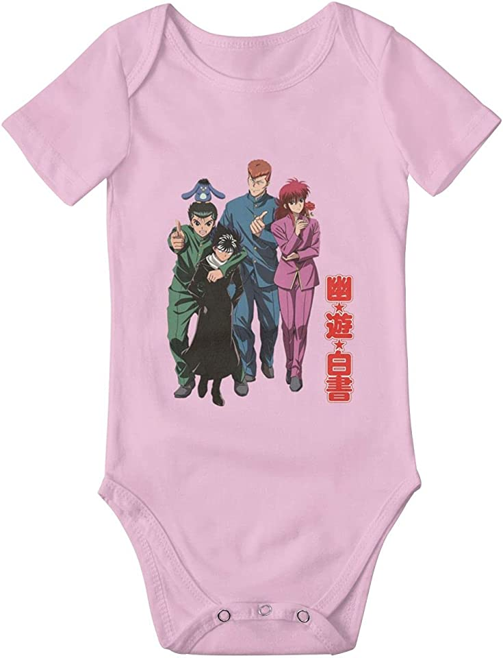 Infant Bodysuit Yu Yu Hakusho Anime Lovely Toddler Kids Bodysuit