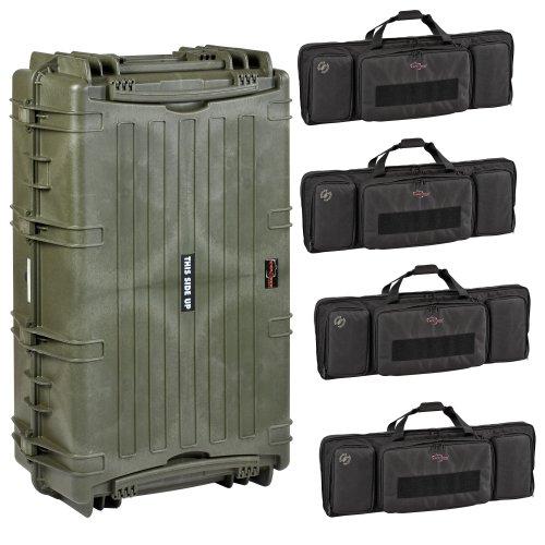 explorer gun cases Explorer Cases 10840 Gun Case with Four Padded Gun Bags