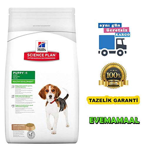 Hills Canine Puppy Healthy Development Lamm & Reis 12kg, 1er Pack (1 x 12 kg Packung)