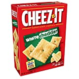 Cheez-It White Cheddar Cheese Crackers - School Lunch Food, Baked Snack, Bulk Size (12.4 oz Box)