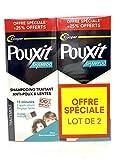 Pouxit Champú para tratamiento antipiojos y lentes, 2 unidades de 250 ml