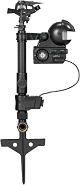 Orbit 62100 Yard Enforcer Motion-Activated Sprinkler with Day & Night Detection Modes,Black