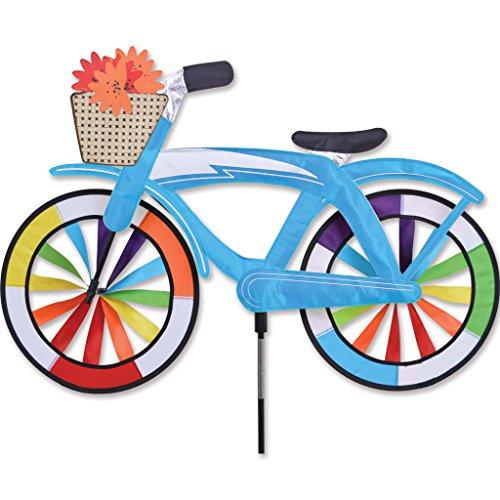 Premier Kite Bike Spinner-Blue Classic Cruiser Girouette Figurative, Multicolore