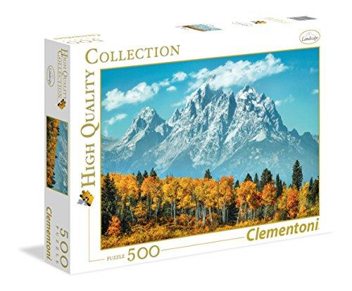 Clementoni - Puzzle 500 Piezas Grand Teton in Fall (35034)