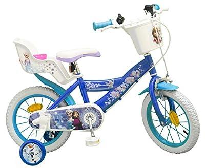 "TOIMS Eiskönigin Fahrrad Kind 14"""
