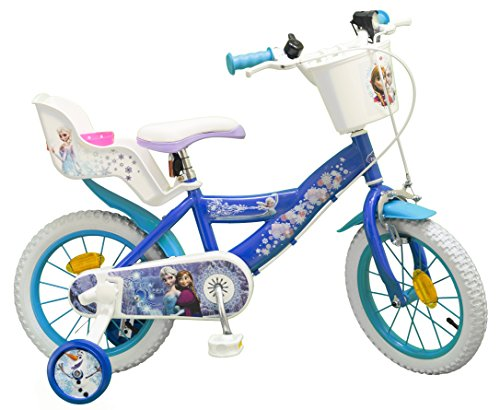 "Pik&Roll Girls Frozen Kinderfahrrad 14"", blau"
