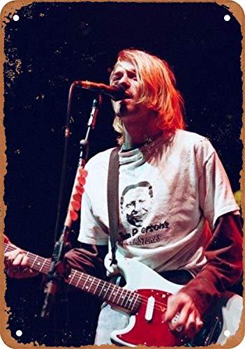 Nirvana Metall Blechschild Retro Metall gemalt Kunst Poster Dekoration Plaque Warnung Bar Cafe Garage Party Game Room Hauptdekoration