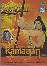 Ramayan Animated in Hindi [Dvd] Full Story of Ramayan in One Dvd with English Subtitles