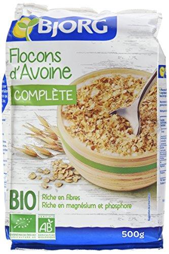 Bjorg Flocons d'Avoine Bio 500 g - Lot de 5