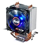 CPU Cooler with PWM CPU Cooling Fan & 3 Direct Contact CPU Heatsink Pipes Support Intel i3/i5/i7 CPU Socket LGA 775/1366/1150/1151/1155/1156 & AMD CPU FM1/FM2/FM2+/AM2/AM2+/AM3/AM3+/AM4