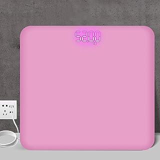 Wghz Báscula de Peso, báscula Digital, Ciencia de la Tierra, Pantalla Oculta electrónica y LED Inteligente, báscula Digital, báscula doméstica, báscula de Salud Corporal para Adultos