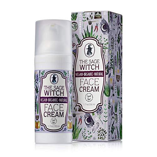 Natural Organic Anti-Aging Face Cream Moisturizer, Vegan Non-Greasy Formula...