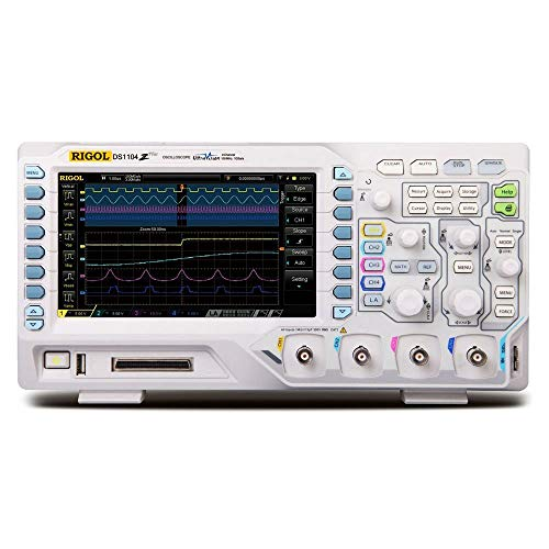 RIGOL デジタルオシロスコープ DS1104Z Plus 100MHz 4ch 1GSa/s 【国内正規品】【 3年間保証】【日本語説明書】