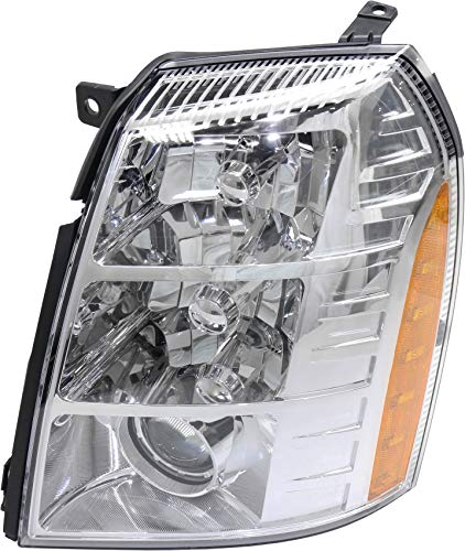 Headlight Assembly Compatible with 2007-2009 Cadillac Escalade HID with HID Kit 1st Design Driver Side