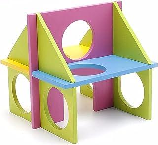Kolorowe zwierzęta mysz szczur chomik drewniane zabawne zabawne siłownia plac zabaw ćwiczenia bezpieczna zabawka małe mate...