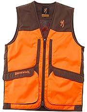 Browning - Chaleco de caza Upland Hunter Visibilty Naranja