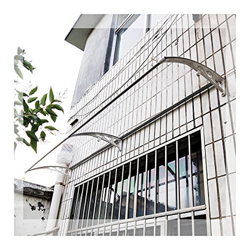 LIANGJUN Tejadillo De Protección Marquesina, Moderno Policarbonato Techumbre Marquesinas Lluvia Nieve Proteccion Cubrir, Exterior Jardín Balcón Gastos Generales Pabellón (Size : 200cm x 80cm)
