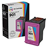 LD Remanufactured Ink Cartridge Replacement for HP 901 CC656AN (Color)