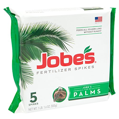 Jobe's 100046747 Outdoor, 5 Per Package Palm Tree Spikes 10-5-10 Time Release Fertilizer
