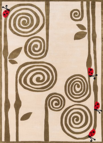 Big Sale Best Cheap Deals Momeni Swirly Fern Rug, Ivory, 8' x 10'