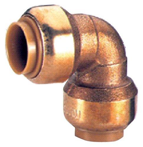 Kupfer Steckfitting Tectite Bogen 90° 18 mm Innen/Innen lösbar, T090