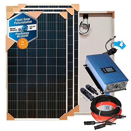 Kit solar Aire acondicionado cero electricidad