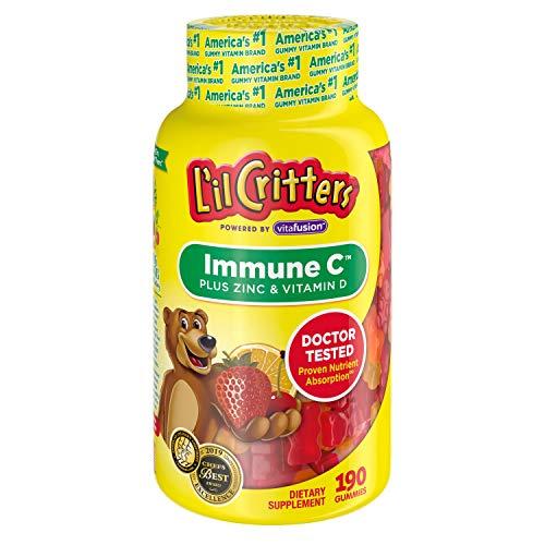 L'il Critters Immune C,190 Gummy Bears