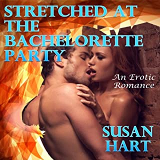Stretched at the Bachelorette Party audiobook cover art