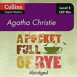 A Pocket Full of Rye audiobook cover art