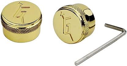 2Pcs Zinc alloy Locking Control Knobs Dia. 6mm(0.24